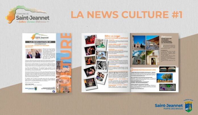 Newsletter Culture Saint-Jeannet